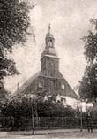 Kościół w Krośnie (ok. 1902 r.)